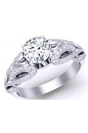 """Butterfly Princess""-Art Nouveau Diamond ring 1241 1241"