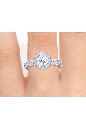 Pave Engagement Ring WIST-1529-HC WIST-1529-HC