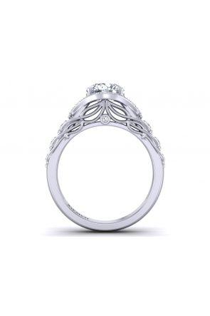 Pave Engagement Ring AUTM-1317H-AH AUTM-1317H-AH