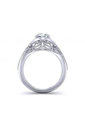 Pave Engagement Ring AUTM-1317H-KH AUTM-1317H-KH
