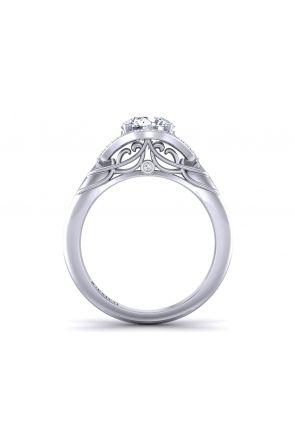 Pave Engagement Ring AUTM-1317H-MH AUTM-1317H-MH