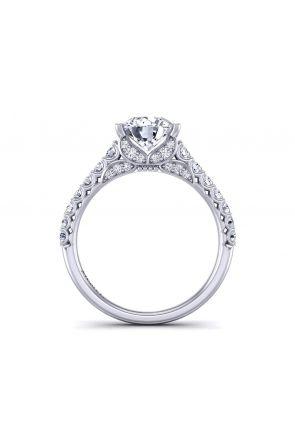 Modern surface prong-set diamond encrusted masterpiece BUTTERFLY-1263-E BUTTERFLY-1263-E