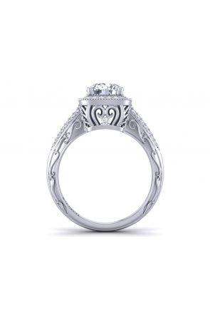 Pave Engagement Ring HEIR-1129-A HEIR-1129-A