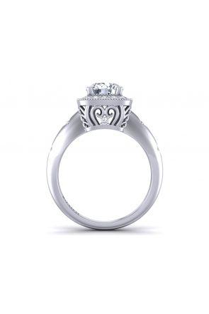 Pave Engagement Ring HEIR-1129-B HEIR-1129-B