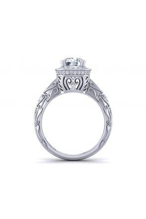 Pave Engagement Ring HEIR-1129-C HEIR-1129-C