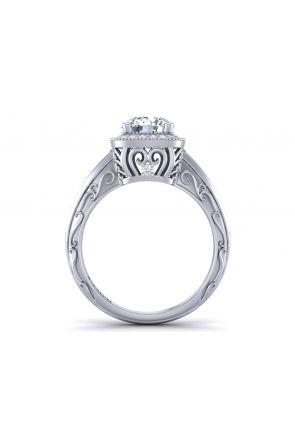 Pave Engagement Ring HEIR-1129-E HEIR-1129-E
