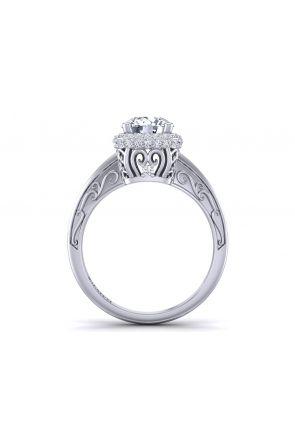 Pave Engagement Ring HEIR-1129-H HEIR-1129-H