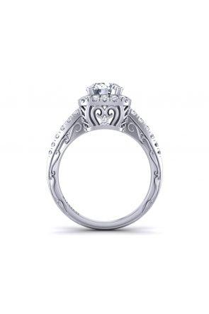 Pave Engagement Ring HEIR-1129-J HEIR-1129-J