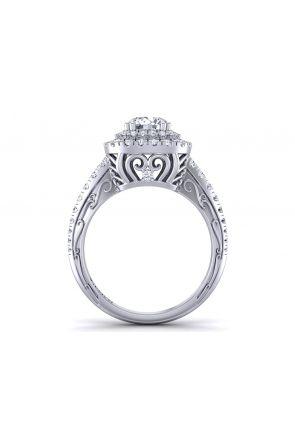 Pave Engagement Ring HEIR-1129-L HEIR-1129-L