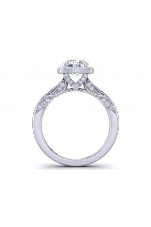 Pave Engagement Ring HEIR-1140-B HEIR-1140-B