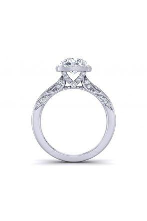 Pave Engagement Ring HEIR-1140-D HEIR-1140-D