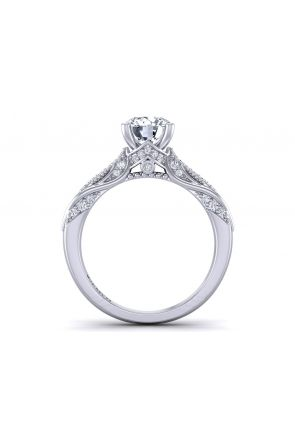 Pave Engagement Ring HEIR-1140S-AS HEIR-1140S-AS