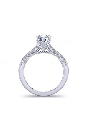 Pave Engagement Ring HEIR-1140S-BS HEIR-1140S-BS