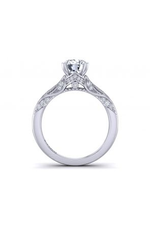 Pave Engagement Ring HEIR-1140S-GS HEIR-1140S-GS
