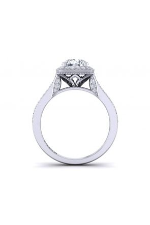 Pave Engagement Ring HEIR-1476-A HEIR-1476-A
