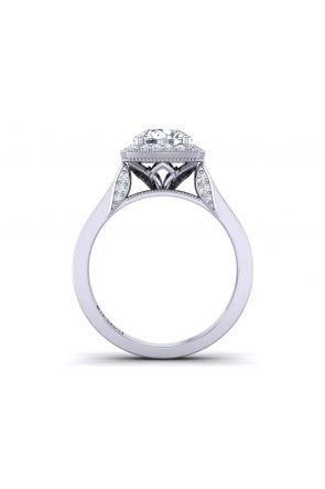 Pave Engagement Ring HEIR-1476-C HEIR-1476-C