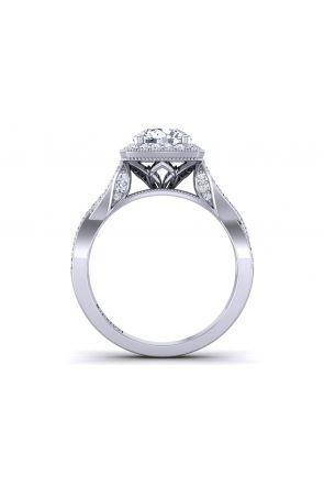 Pave Engagement Ring HEIR-1476-D HEIR-1476-D