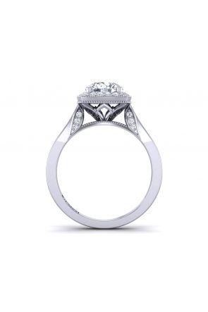 Pave Engagement Ring HEIR-1476-E HEIR-1476-E