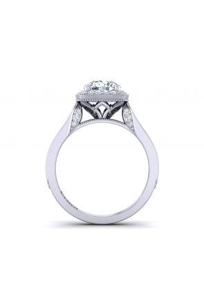 Pave Engagement Ring HEIR-1476-F HEIR-1476-F