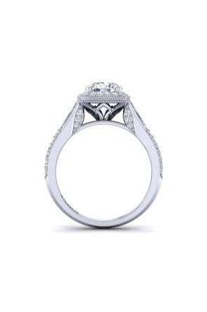 Pave Engagement Ring HEIR-1476-K HEIR-1476-K