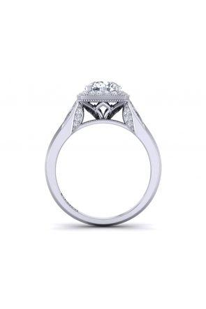 Pave Engagement Ring HEIR-1476-L HEIR-1476-L