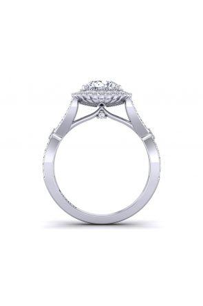 Pave Engagement Ring HEIR-1539-HC HEIR-1539-HC