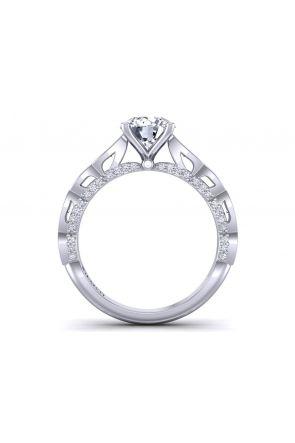Channel pavé art nouveau anniversary ring PP-1289-D PP-1289-D-1