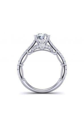 Graduated band pavé unique round diamond setting  PRT-1470-TA PRT-1470-TA