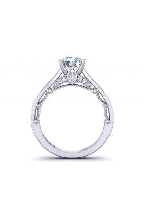Pavé channel set designer engagement ring setting PRT-1470-TH PRT-1470-TH