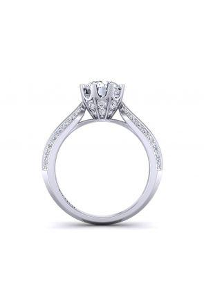 Pave Engagement Ring SW-1450-Q SW-1450-Q