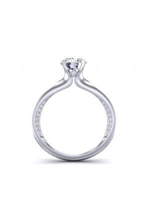 Pave Engagement Ring SWAN-1176-A SWAN-1176-A