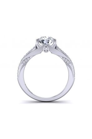 Pave Engagement Ring SWAN-1436-F SWAN-1436-F