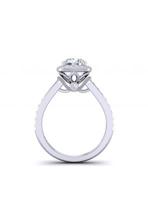 Pave Engagement Ring TLP-1200H-CH TLP-1200H-CH