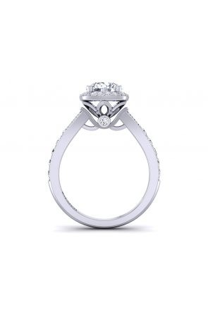 Pave Engagement Ring TLP-1200H-DH TLP-1200H-DH