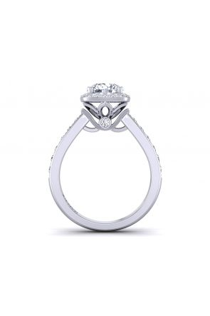 Pave Engagement Ring TLP-1200H-EH TLP-1200H-EH