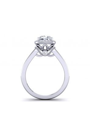 Pave Engagement Ring TLP-1200H-FH TLP-1200H-FH