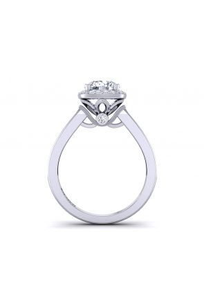 Pave Engagement Ring TLP-1200H-GH TLP-1200H-GH
