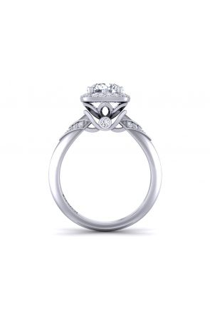 Pave Engagement Ring TLP-1200H-HH TLP-1200H-HH