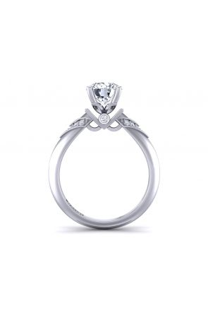 Pave Engagement Ring TLP-1200S-DS TLP-1200S-DS