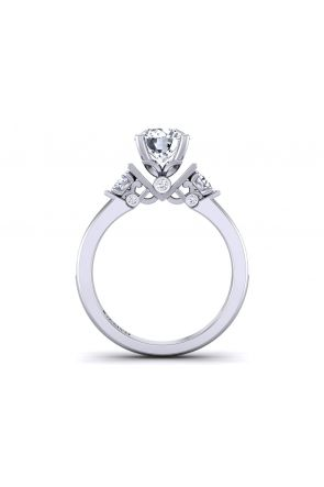 Modern 3-Stone designer diamond ring TLP3-1200-A3 TLP3-1200-A3
