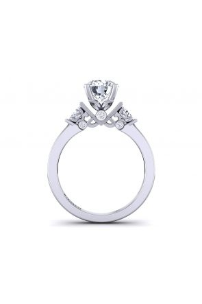 Pave Engagement Ring TLP3-1200-C3 TLP3-1200-C3