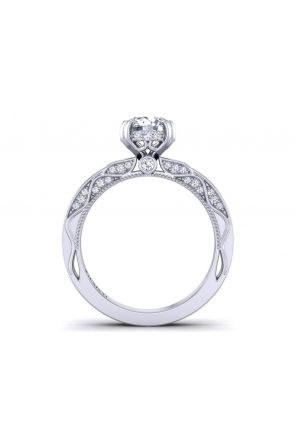 Pave Engagement Ring WIST-1510S-AS WIST-1510S-AS