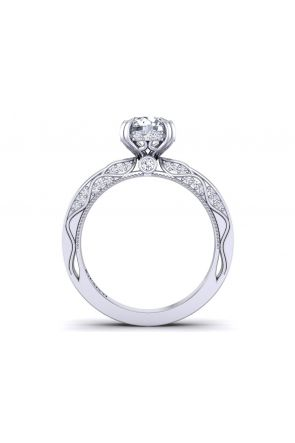 Pave Engagement Ring WIST-1510S-DS WIST-1510S-DS