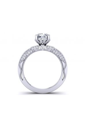 Pave Engagement Ring WIST-1510S-GS WIST-1510S-GS