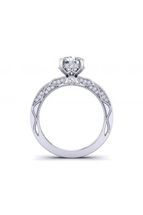 Pave Engagement Ring WIST-1510S-MS WIST-1510S-MS