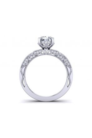 Pave Engagement Ring WIST-1510S-NS WIST-1510S-NS