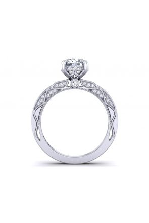 Pave Engagement Ring WIST-1510S-PS WIST-1510S-PS