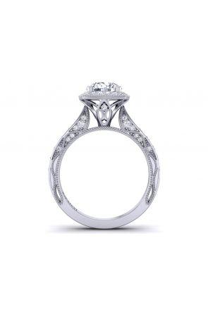 Pave Engagement Ring WIST-1529-HF WIST-1529-HF
