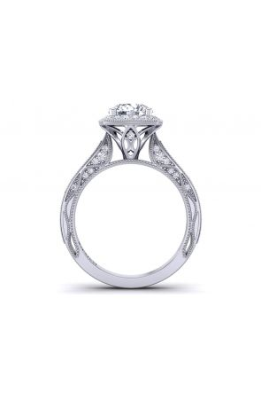 Pave Engagement Ring WIST-1529-HJ WIST-1529-HJ