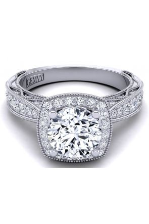 Unique Modern engagement ring setting WIST-1529-HJ WIST-1529-HJ